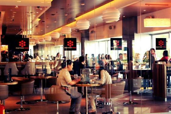 Городская кофейня
